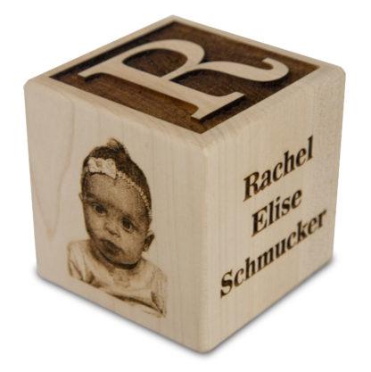 Custom Engraved Baby Block